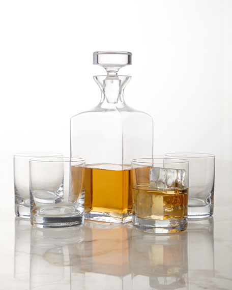 Carson Decanter & Double Old-Fashioneds, 5-Piece Set