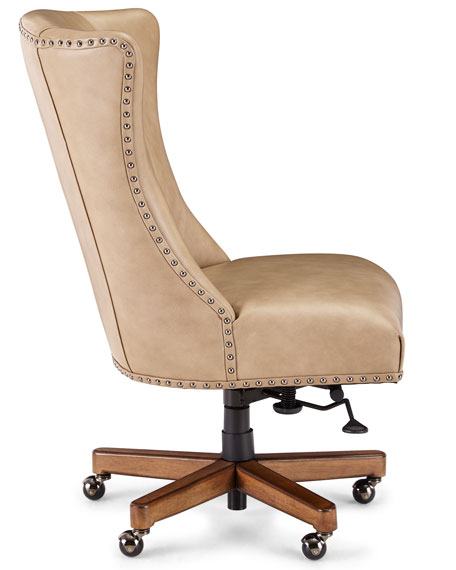 Attirant Shawnee Leather Office Chair