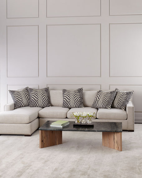 Zanzibar Left Chaise Sectional Sofa