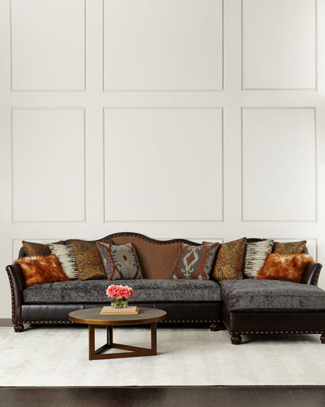 Brenda Right-Chaise Sectional Sofa