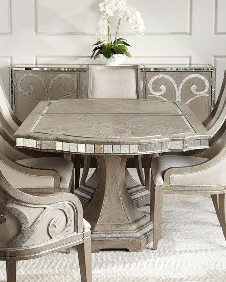 Imported Mirrored Dining Room Furniture | horchow.com