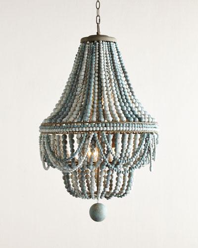 Malibu Beaded 6-Light Chandelier - Chandelier Lighting At Neiman Marcus Horchow
