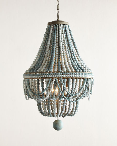 Regina Andrew Design Malibu Beaded 6 Light Chandelier