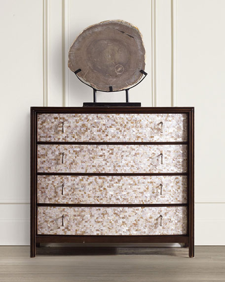 Melania Mosaic 4-Drawer Chest