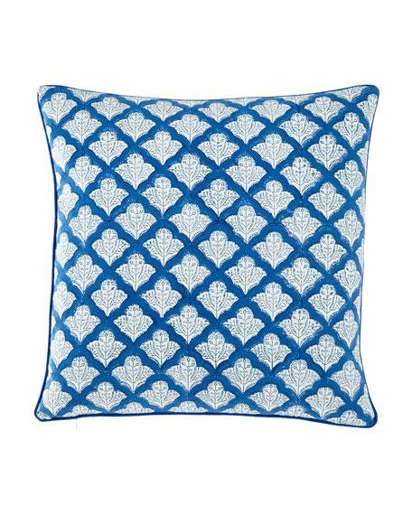 "Jemina Pillow Cover, 18""Sq."