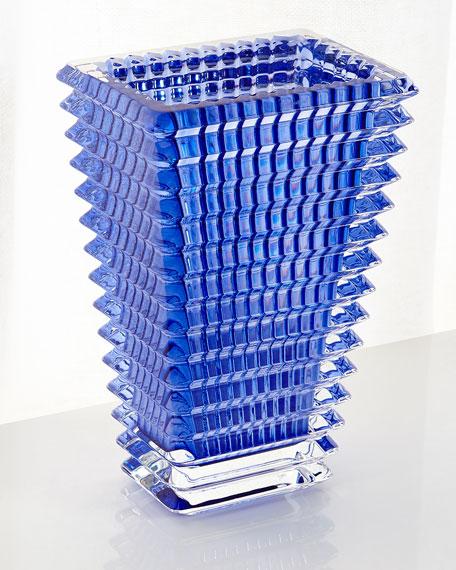 Blue Eye Small Rectangular Vase