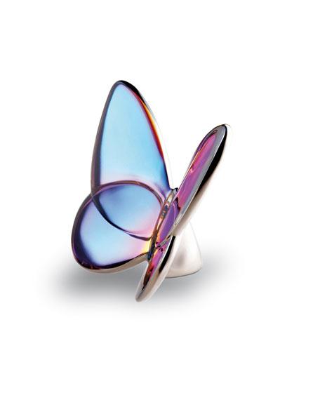 Lucky Butterfly, Blue Iridescent