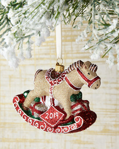 Rockin' Rocking Horse Christmas Ornament