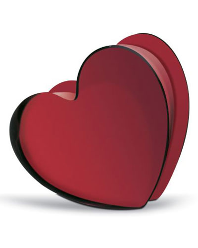 Zinzin Large Red Heart.