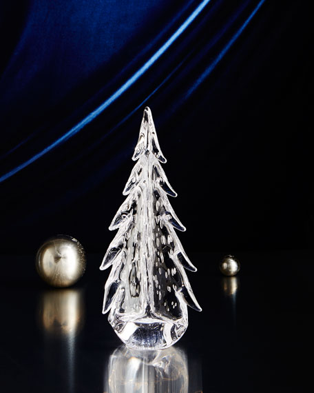 "Evergreen 8"" Bubble Glass Tree"
