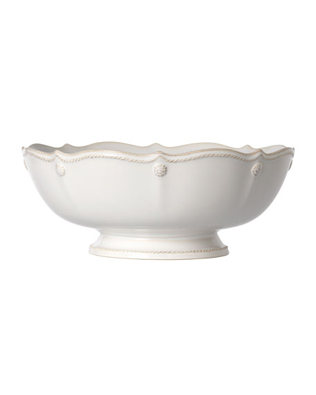 Berry & Thread Whitewash Footed Fruit Bowl