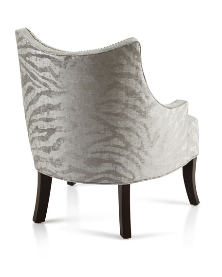 Lilia Animal-Print Chair