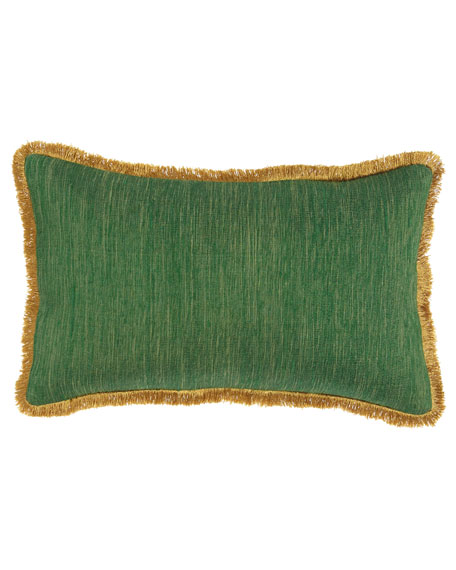 Romilly Emerald Pillow