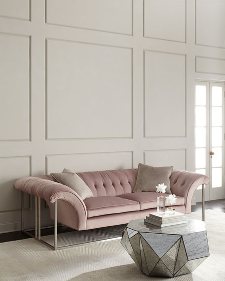 Philippa Metal Frame Sofa