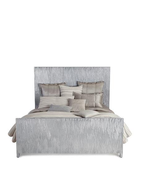 Triton Silver King Platform Bed
