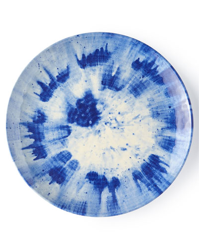 Splatter & Spin Melamine Dinner Plate