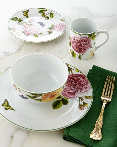 16-Piece Roses Dinnerware Service