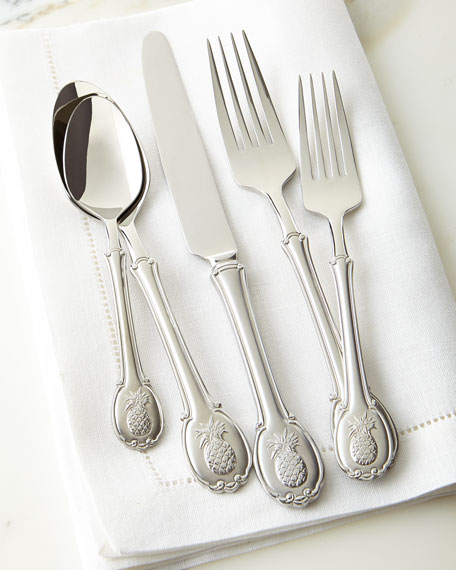 Godinger 45-Piece Pineapple Flatware