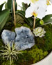 Orchids & Succulents Faux Floral Arrangement