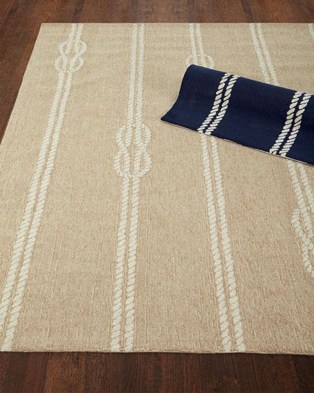 """Knot & Rope Indoor/Outdoor Rug, 5' x 7'6"""""""