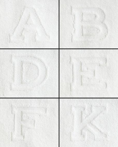 Auberge Monogrammed Hand Towel