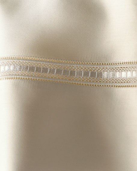 King Macrame Lace Duvet Cover
