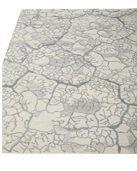 "Geneva Crackle Rug, 8'6"" x 11'6"""