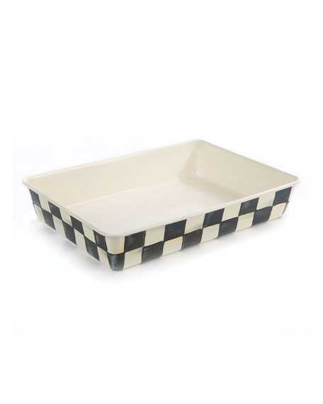 Courtly Check Baking Pan, Rectangular