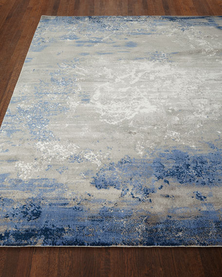 NourCouture Foggy Night Rug, 8' x 10'
