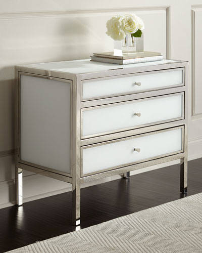 Darcey 3-Drawer Nightstand