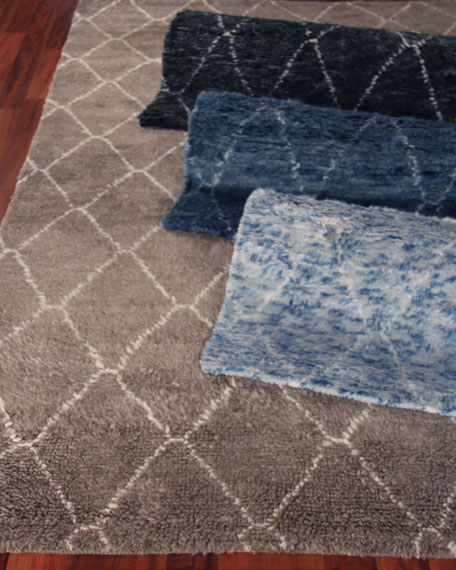Exquisite Rugs Nonali Hand-Knotted Rug, 10' x 14'