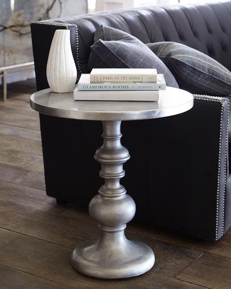 Madeline Tufted Leather Sofa