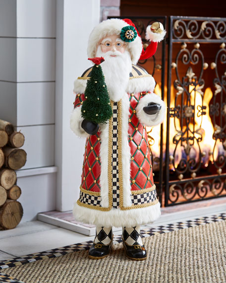 Tall Highland Santa, 32""