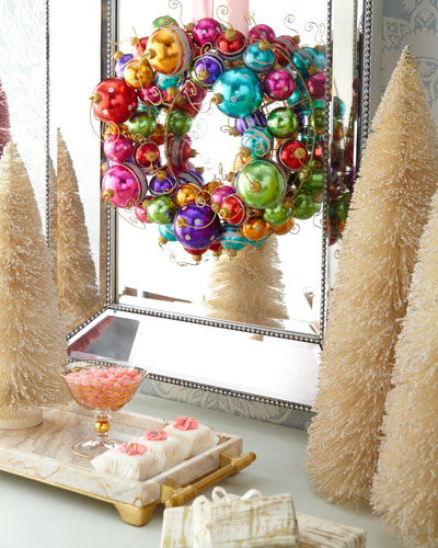 Holiday Ball Wreath, 16