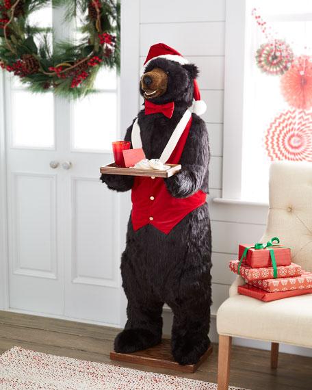 "Christmas Bear Butler, 58"""