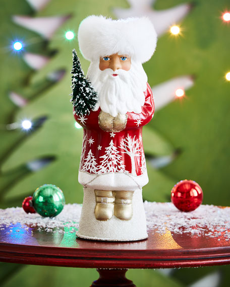 """Russian Santa"" Collectible Figurine"
