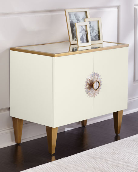 Prynne Mirror Top Cabinet
