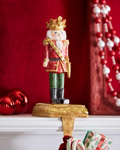 Toy Soldier Stocking Holder  Dagger Down