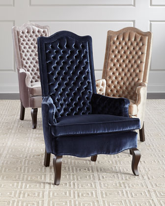 Marion Tall Back Tufted Chair