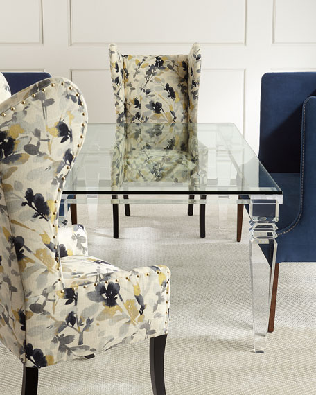 Christelle Acrylic Dining Table