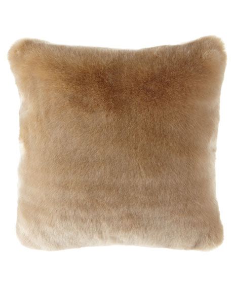 Polar Luxe Faux-Fur Pillow
