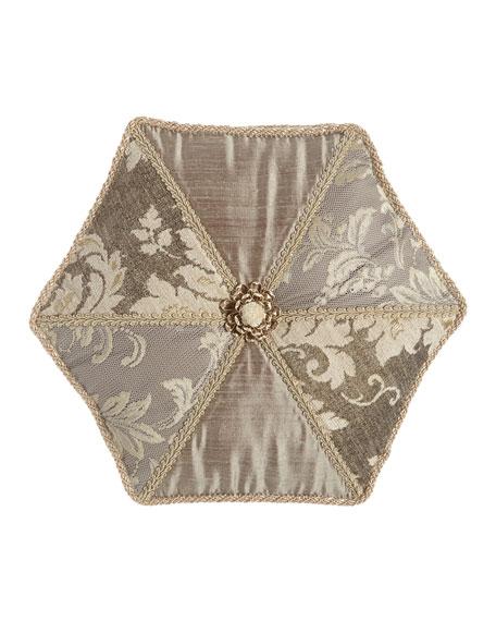 Elegance Hexagon Pillow