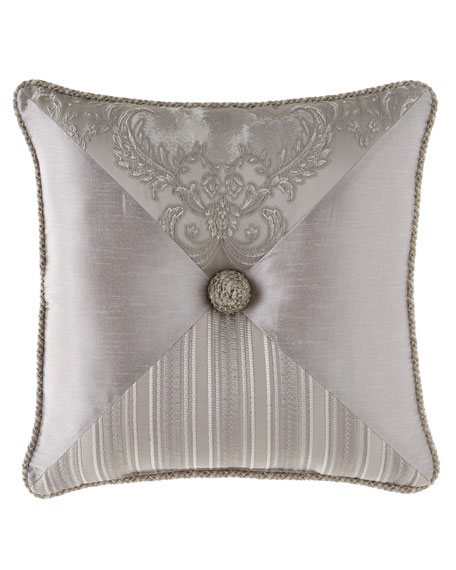 "Prestige Pieced Pillow, 20""Sq."