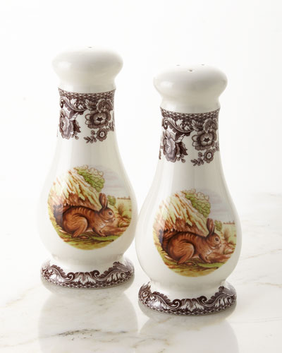 Woodland Rabbit Salt & Pepper Set