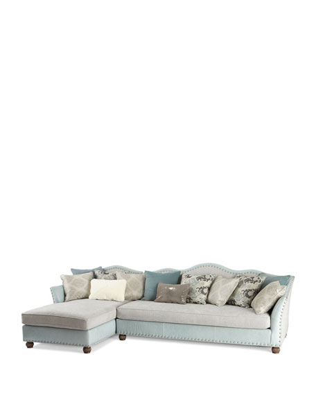 Trulee Left Chaise Sectional 146""