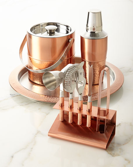 Godinger 9-Piece Copper Bar Set