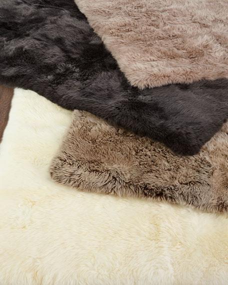 Effie Sheepskin Rug, 5' x 8'
