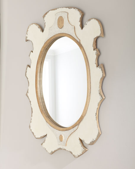 Bianca Wooden Mirror