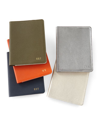 Leather 9 Notebook  Personalized