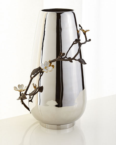 Dogwood Centerpiece Floor Vase
